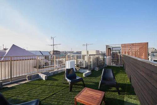Kyodo House with rooftop terrace