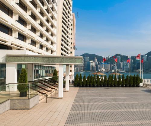 Marco Polo Hongkong Hotel «Континентальный клуб» ― Двухместный номер Делюкс с кроватью размера