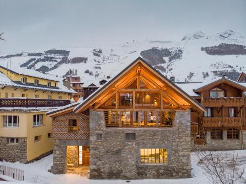 Chalet Prestige l'Atelier Lodge - Les Deux Alpes