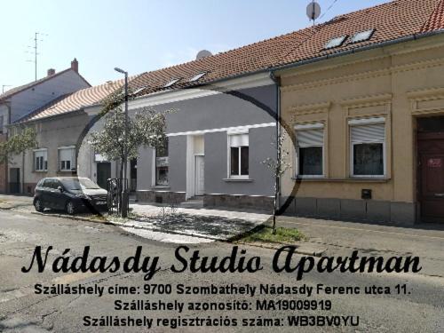 Nádasdy Studió Apartment
