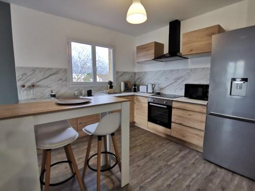 Beau T4 lumineux au calme, grande terrasse - Apartment - Roques Sur Garonne