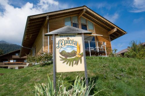 Bed&Breakfast l'Epicéa - Accommodation - Leysin