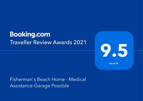 Fisherman's Beach Home - Medical Assistance-Garage Possible