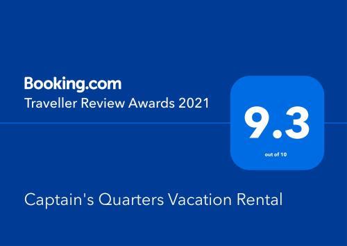 . Captain's Quarters Vacation Rental
