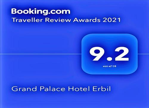 Hotel Grand Palace Hotel Erbil