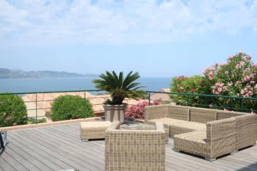 Appartement vue mer à St Florent - Location saisonnière - Saint-Florent