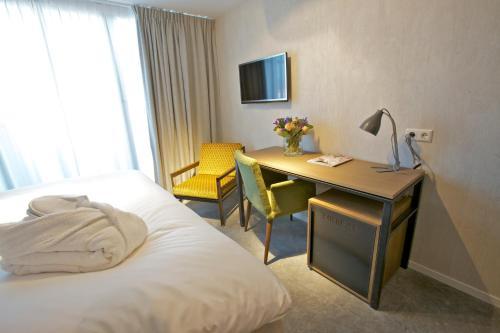 Hotel De Hallen Стандартный двухместный номер с 2 отдельными кроватями