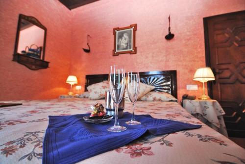 Habitación Doble Superior con terraza B&B Hacienda el Santiscal 14