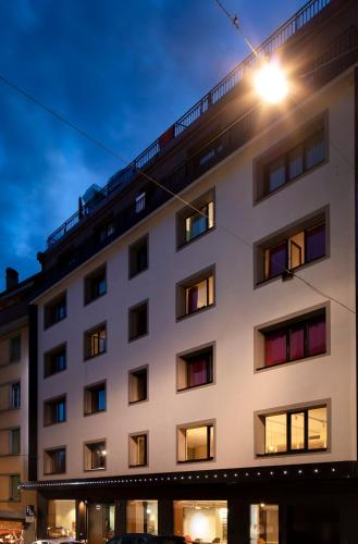 Lausanne by Fassbind, Pension in Lausanne