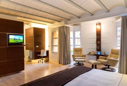 Rustic Double Room Hotel Spa La Casa del Rector 8