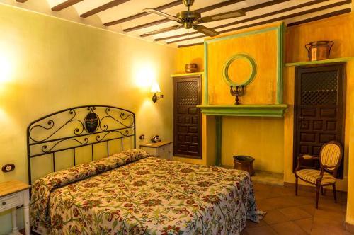 Rustic Double Room Hotel Spa La Casa del Rector 10