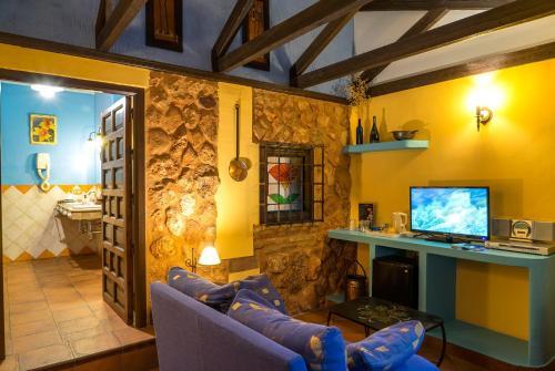 Rustic Double Room Hotel Spa La Casa del Rector 13