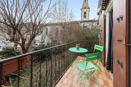 . Apartment with one bedroom in Barreme with furnished balcony and WiFi
