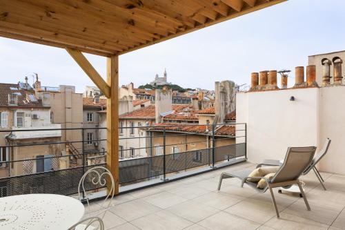 Les Appartements Maison Montgrand-Vieux Port - Hôtel - Marseille