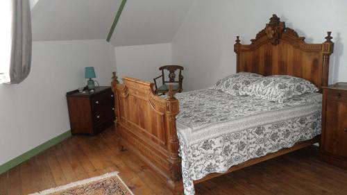 La chambre de la boule d 'or - Chambre d'hôtes - Lanvallay