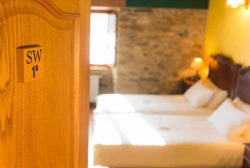 Doppel- oder Zweibettzimmer Casa do Merlo 13