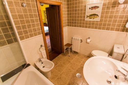 Doppel- oder Zweibettzimmer Casa do Merlo 10