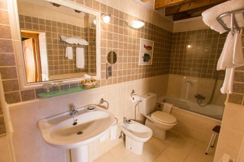 Doppel- oder Zweibettzimmer Casa do Merlo 12