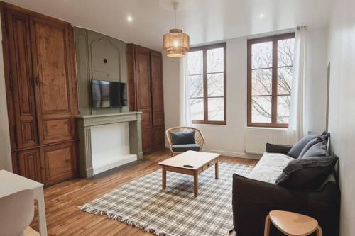 Duplex coeur de ville de St-Dizier 2 chambres - Location saisonnière - Saint-Dizier