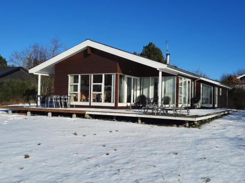 . Three-Bedroom Holiday Home in Ebeltoft