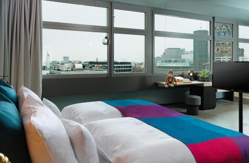 25hours Hotel Bikini Berlin Двухместный номер Делюкс с 1 кроватью