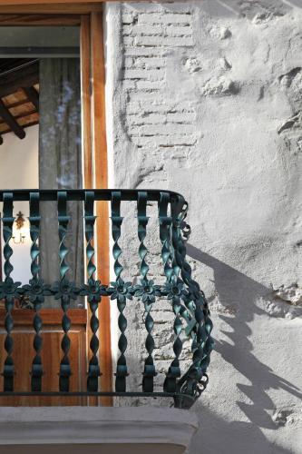 Junior Suite mit Balkon - Einzelnutzung Hotel Rural Masía la Mota 15