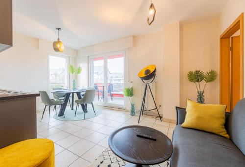Hotel-overnachting met je hond in Modern, Stylish & Spacious Apartment With Balcony View - Esch-sur-Alzette