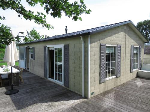 . Detached chalet with nice terrace, near recreational lake