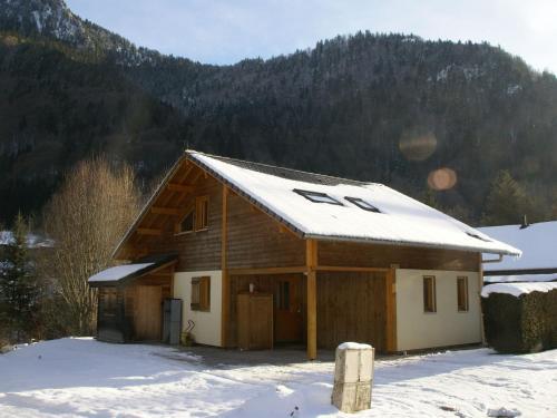 Spacious Chalet in Saint-Jean-d'Aulps near Ski Area - Saint-Jean-d'Aulps