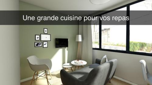 . Résidence 7ème Art - T2 Meublés - centre ville
