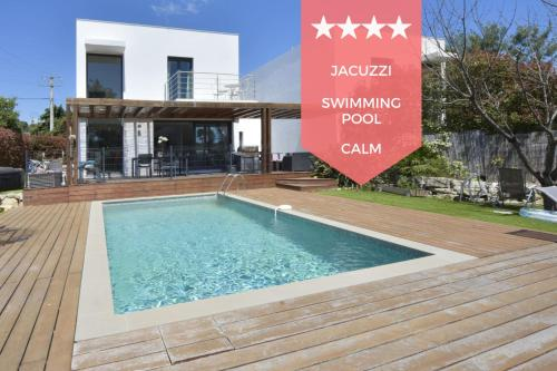 RARE Contemporary Villa with Swimming Pool & Jacuzzi 10 Minutes from - Location saisonnière - La Roquette-sur-Siagne