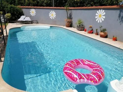 Orangeraie - Location Coquette maison au calme piscine privee a 10mn des plages - Location saisonnière - Villelongue-de-la-Salanque
