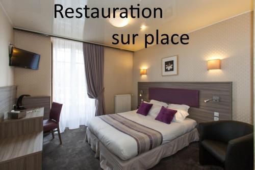 Citotel Hôtel le Challonge - Hôtel - Dinan