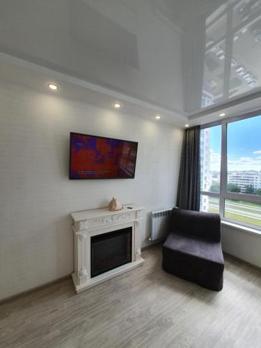 . Уютная студия с панораным видом в новом доме