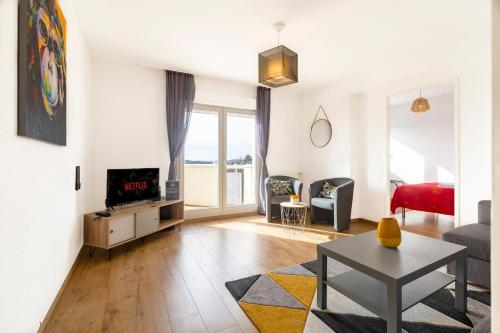 . Top of the Rebberg Mulhouse - 2BR near the Zoo
