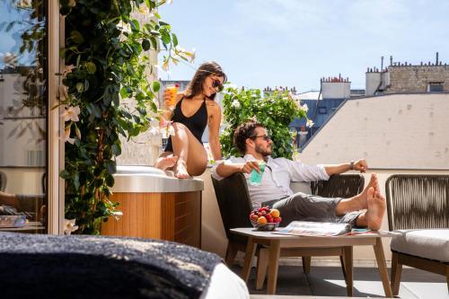 Paris j'Adore Hotel & Spa - Hôtel - Paris