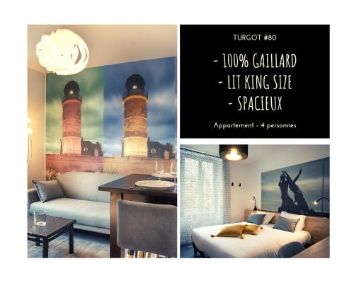 TURGOT #80 - L'Appart. 100% Gaillard - 2 chambres - Location saisonnière - Brive-la-Gaillarde