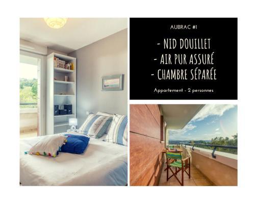 AUBRAC #1 - Bulle de coton - 1 Chambre - Location saisonnière - Brive-la-Gaillarde