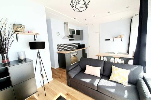 Nouveau-appartement T2 Cosy- Centre Vannes - Location saisonnière - Vannes