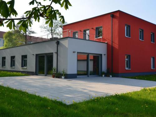 . Modern apartment with private roof terrace in Bad Tabarz, in Thuringia