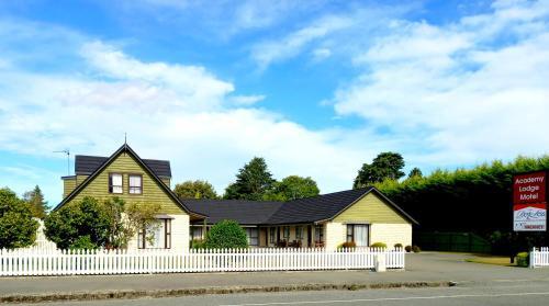Academy Lodge Motel - Accommodation - Ashburton