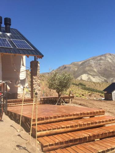 Cabaña con excelentes vistas en valle de losMolles - Chalet - Las Leñas