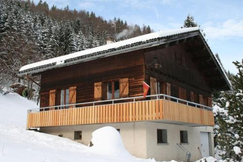 Chalet on the slopes with BALCONY La Clusaz