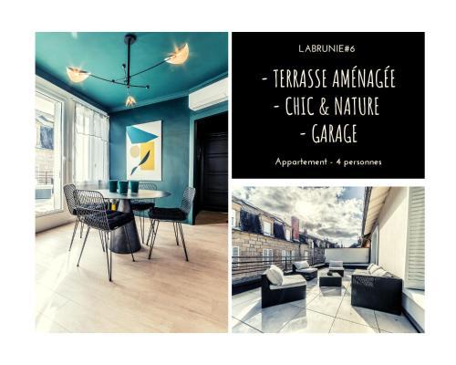 LABRUNIE #6 - Espace chic et nature - 2 Chambres - Location saisonnière - Brive-la-Gaillarde