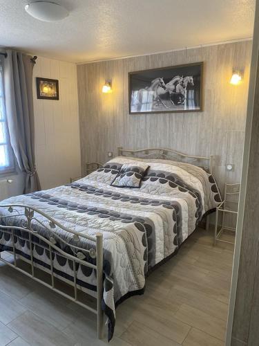 Chambres et table d'hôtes Floromel La Souterraine en rez de chaussee - Hotel - La Souterraine