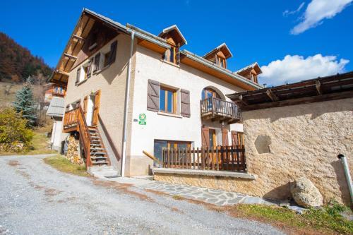 Appartement de 2 chambres a Arvieux avec magnifique vue sur la montagne jardin amenage et WiFi - Apartment - Arvieux