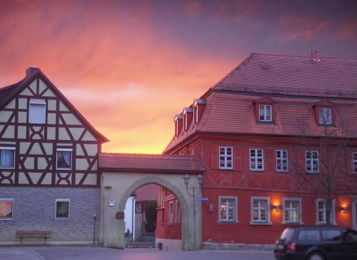 . Rotes Ross Marktbergel
