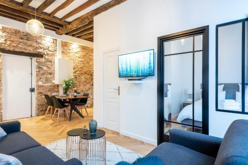 GemBnB Luxury Apartments - Residence Timbaud Paris-Oberkampf - Location saisonnière - Paris