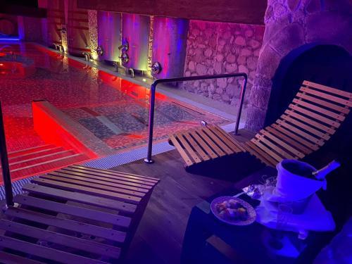 Habitación Doble con acceso al spa - 1 o 2 camas - Uso individual Hotel SPA Bodega El Lagar de Isilla 7