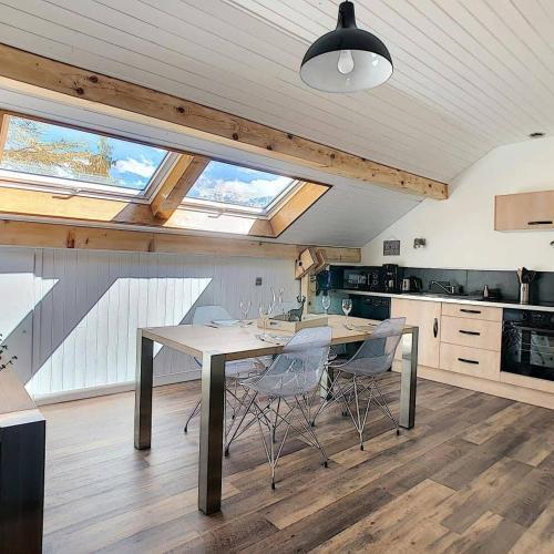 Au Ptit SomMet, F2, 42 m2, Calme, Vue Mt Blanc - Hotel - Passy Plaine Joux